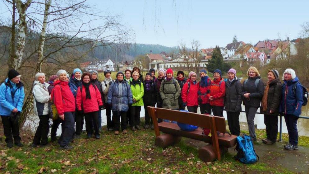 Die Damenwandergruppe 1 (Foto © HWGV Kassel)